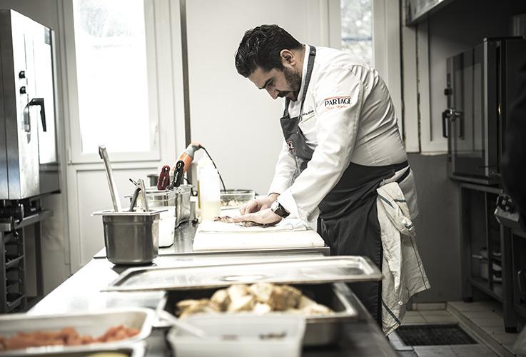 Restaurant Partage - Chef en cuisine2