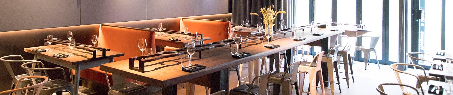 Restaurant Partage - INtérieur du restaurant