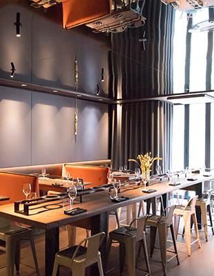 Restaurant Partage - Restaurant intérieur