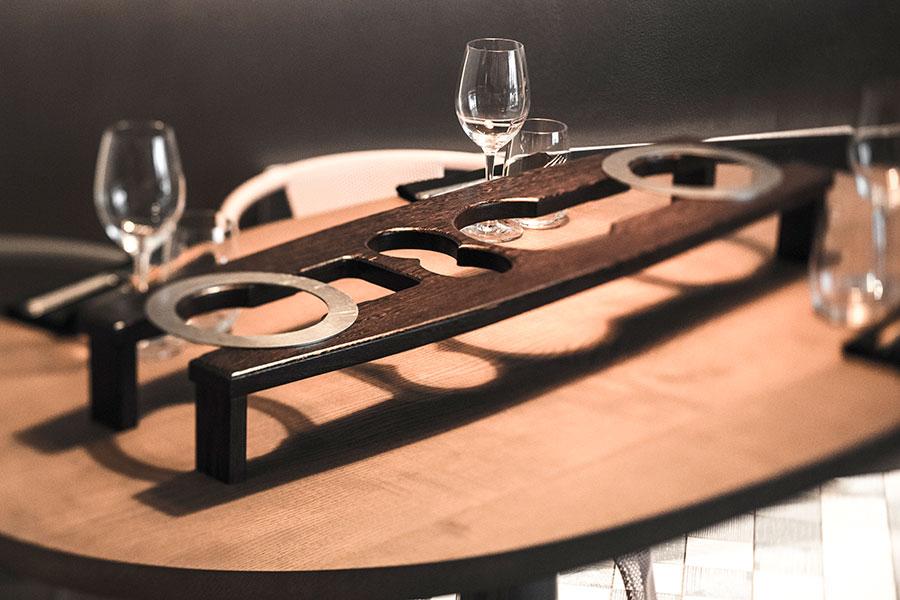 Restaurant Partage - Table d'intérieur
